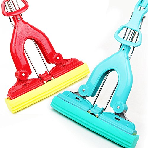 Thanaphatshop Sponge Mop Strong Water Adsorption Mops Cleaner Cleaning Floor Window