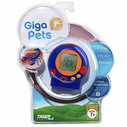 Giga Pets Explorer Tv Game - 2