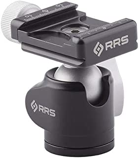 product image for Really Right Stuff BH-25 Ball Head with Mini Screw-Knob Clamp, 8.8 lb Capacity