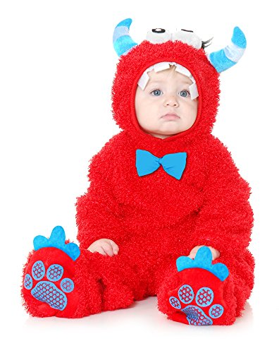 Charades Kids Baby/Toddler Costume, Red,]()