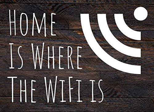 Home is Where the WiFi is Guestbook: A Guestbook for Airbnb or Vacation Rentals