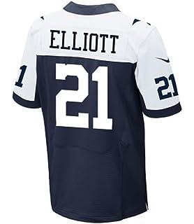 cheap for discount 247a0 0dd7e Amazon.com : Ezekiel Elliott #21 Dallas Cowboys Nike XC2 ...