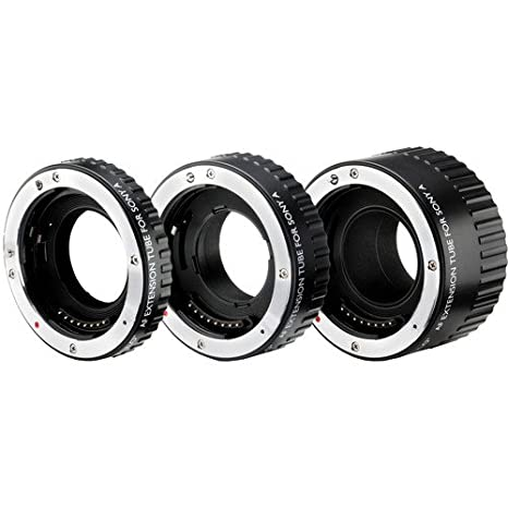 Vello Auto Extension Tube Set (For Sony Alpha..