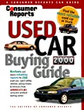 img - for Consumer Reports Used Car Buying Guide 2000 book / textbook / text book