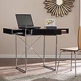 Southern Enterprises Brayven Writing Desk, Black