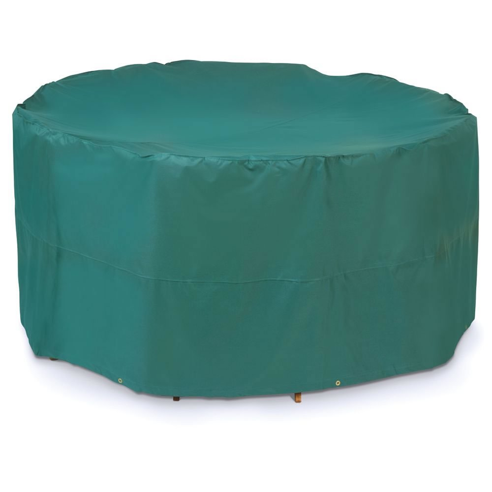 Garden Mile® Durable Waterproof Green Garden Large 4 - 6 Seat Oval Patio Furniture Set UV Protection Cover 200cm x 95cm