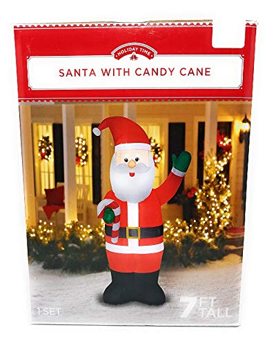 Light Up Outdoor Santa