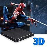 Blu Ray External 3D Drive, USB 3.0 & Type C Optical