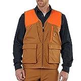 Carhartt Men's 102228 Upland Field Vest - Unlined - X-Large Regular - Carhartt Brown