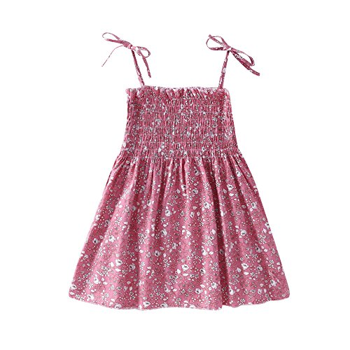 Baby Girls 1st Birthday 3pcs Unicorn Outfits with Headband & Romper & Skirts Clothing Set Pink ()