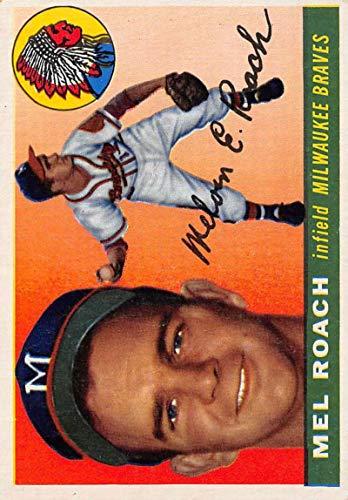 1955 Topps 117 Mel Roach EX