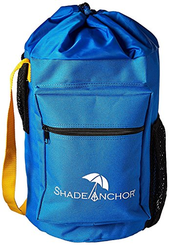 The Original Shade Anchor Bag Beach Umbrella Sand Anchor by Buoy Beach – Works with Any Beach Umbrella on any Type of Sand (Umbrella not Included) ()