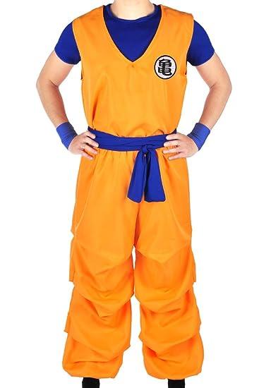 CosplayStudio Dragon Ball - Disfraz de Goku de 3 Piezas en el ...