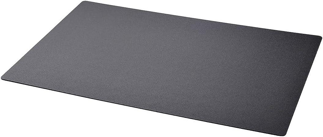 Ikea Skrutt Schreibunterlage Schwarz Schreibtischunterlage Unterlage 65x45 Cm Amazon De Kuche Haushalt