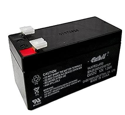 4) Casil CA1212 12v 1 2ah Battery Replacement for Mercedes Benz