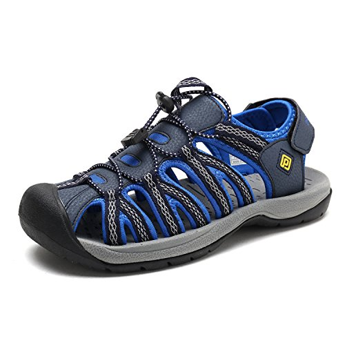 DREAM PAIRS Men's 160912-M-NEW Navy Royal Adventurous Summer Outdoor Sandals Size 9 M US