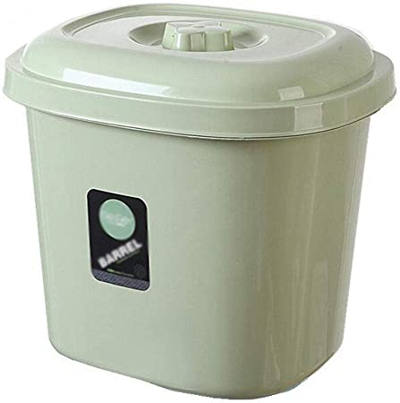 ASDAD Caja De Almacenamiento De Granos De Cocina Contenedor De Alimentos 20 Kg / 15 Kg / 10 Kg Sello Plástico Contenedores De Cereal A Prueba De Humedad,30 * 26 * 28cm: Amazon.es: Hogar