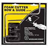 Woodland Scenics ST1437 Foam Cutter Bow & Guide