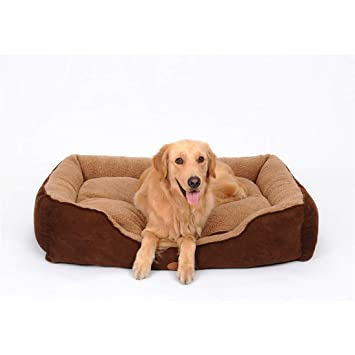 STAZSX Cama para Perro Cama Lavable para Perros Golden Retriever Mediana Large Dog Husky Labrador Pet Supplies Four Seasons Universal, 61X48CM: Amazon.es: ...