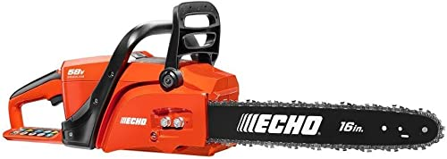 ECHO CCS-58VBT 16 in. 58-Volt Lithium-Ion Brushless Cordless Chainsaw – Battery and Charger NOT INCLUDED