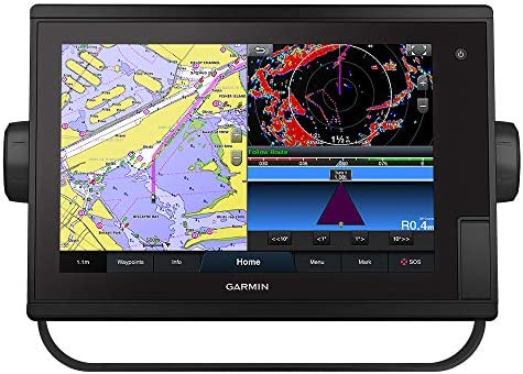 "Garmin GPSMAP 1222 Plus, 12"" Touchscreen Chartplotter with Worldwide Basemap"