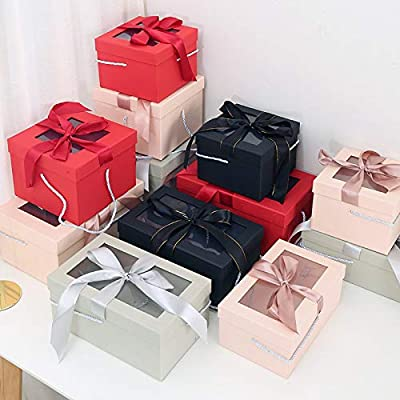 KHKJHT Navidad Día de San Valentín Acción de Gracias Caja de Regalo Lápiz Labial Cosméticos Caja de Embalaje Caja de Regalo Hermoso Regalo Embalaje Regalo de cumpleaños: Amazon.es: Hogar