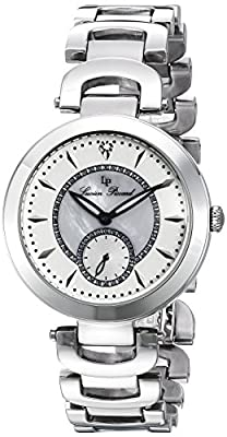 Lucien Piccard Women's LP-10268-22 Casablanca Analog Display Silver-Tone Watch from Lucasarts