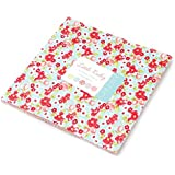 "Little Ruby Layer Cake, 42 - 10"" Precut Fabric Quilt Squares By Bonnie & Camille for Moda"