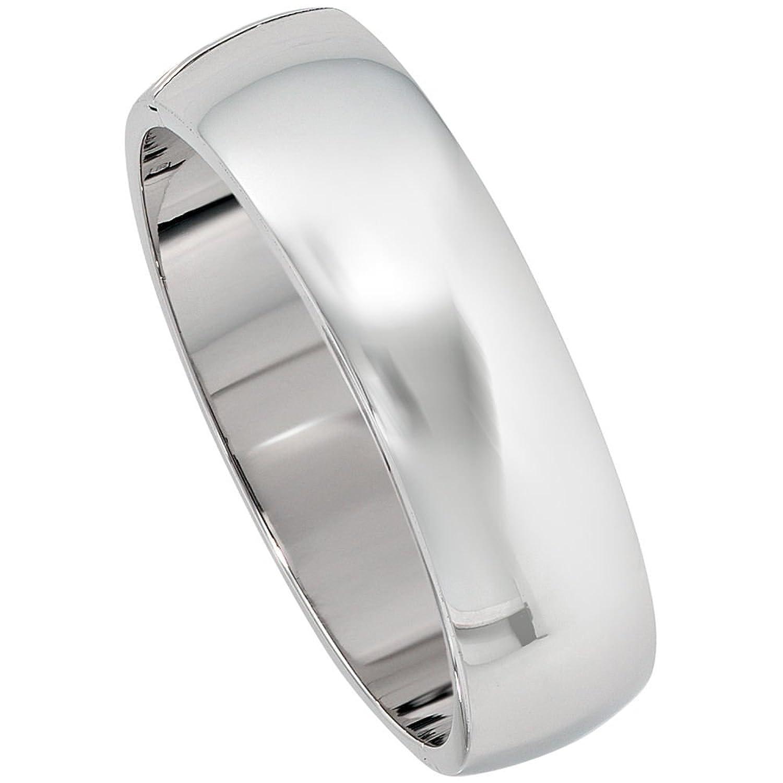 Armreif silber  JOBO Armreif oval 925 Sterling Silber rhodiniert: Amazon.de: Schmuck