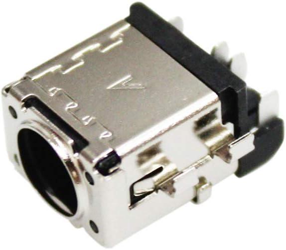 Zahara DC Power Jack Socket Plug Connector Port Replacement for ASUS R518 R518U R518UA-RH51T R518UQ-RH74T