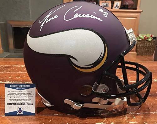 - Kirk Cousins Autographed Signed Minnesota Vikings Authentic Proline Helmet Beckett Gtsm