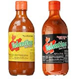 Mexican Salsa Regular Sauce + Extra Hot Salsa Sauce Valentina 12.5 oz each Total Pack of 2