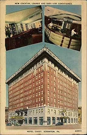 hotel casey scranton pennsylvania original vintage postcard entertainment collectibles. Black Bedroom Furniture Sets. Home Design Ideas