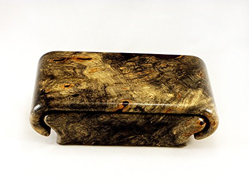 Buckeye Burl Box by Wood Box Art