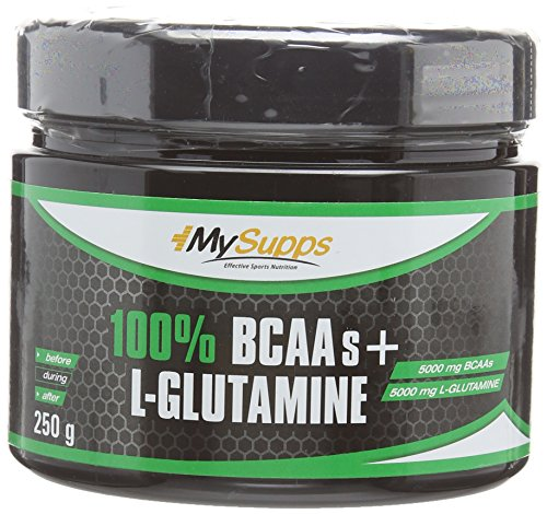 My Supps 100% BCAA-Glutamin Powder, 2er Pack (2 x 0.25 kg)