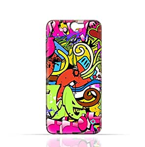 HTC ONE A9 TPU Silicone Case with Graffitii Hip Hop 2
