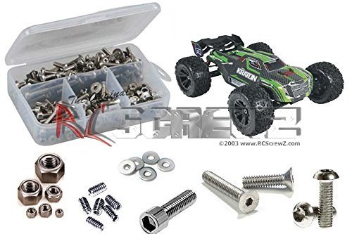 ARRM007 - Arrma Kraton BLX 1/8th Stainless Steel Screw Kit