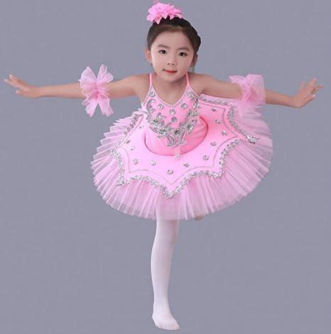 Trajes de Ballet para niños Niñas Ropa de Baile Moderna Faldas de ...