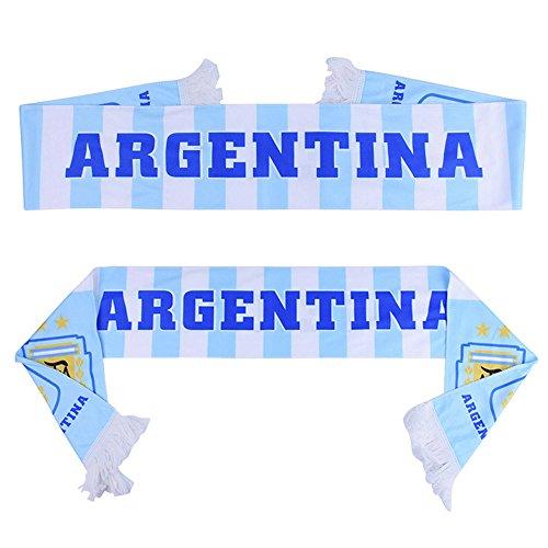 QTKJ ARGENTINA 2018 World Cup Fans Scarf National Team Scarf Flag Banner Football Cheerleaders Scarves