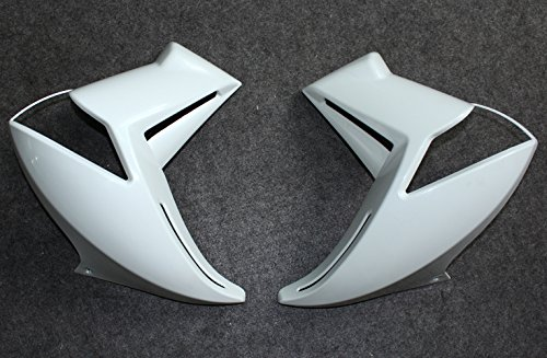 ZXMOTO Unpainted Motorcycle Left and Right Side Cover Fairings Fit For Kawasaki ER6N 2009-2012 2010 2011