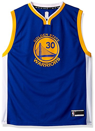 Outerstuff Stephen Curry Golden State Warriors #30 Youth Road Jersey Blue (Youth Large ()