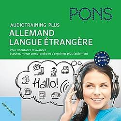 Audiotraining Plus - Allemand langue étrangère