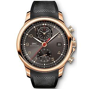 New IWC Portugieser Yacht Club Chronograph 18k Rose Gold 43.5 mm Watch IW390505