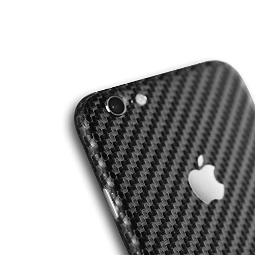 AppSkins Rückseite iPhone 6s Full Cover - Carbon black