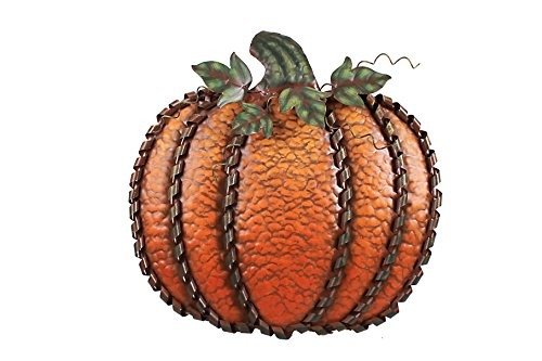 Metal Pumpkin Harvest Decor Country Seasonal Decoration
