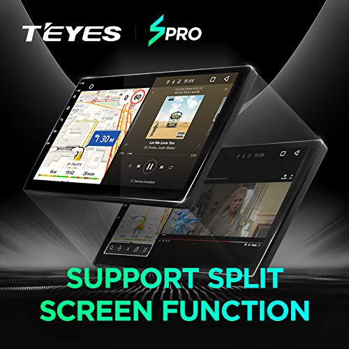 TEYES SPRO Android Car in-Dash Navigation Stereo for KIA Sportage 4 QL 2018 2019 Octa core 2GB RAM 32GB ROM 9 inch Screen Android 8.1 Car Multimedia Player