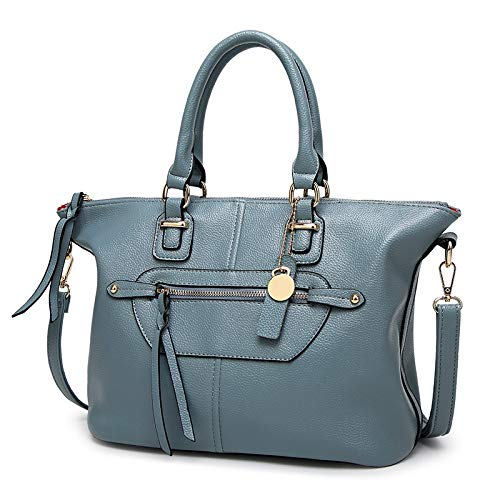 hlh azul Shoulder Fashion European Bag Ladies American And Slung Handbags Tassel One Bag Azul Big Handbag aO0Cq640w