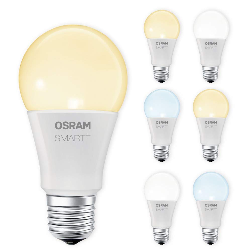 OSRAM SMART+ LED E27 Lampe Tunable Weiß dimmbar Lightify Echo Alexa kompatibel Auswahl 7er Set