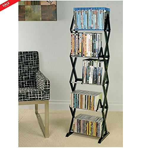 Organizer Media Metal Rack Floating Shelf Storage Geometric Modern Design For Small Spaces Βedroom Living Room Τeens Room Kitchen Lightweight Durable & eBook by BADA shop by BS (Image #5)