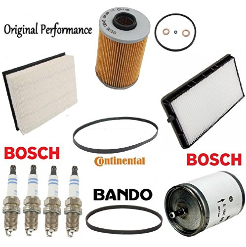 Tune Up Kit Air Cabin Fuel Oil Filters for BMW 325i E36 (Bmw E36 Fuel Filter)